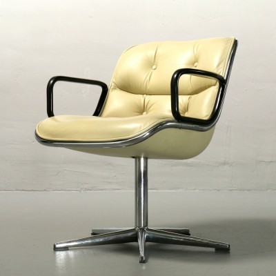 Executive office chair by Charles Pollock for Knoll, 1960s