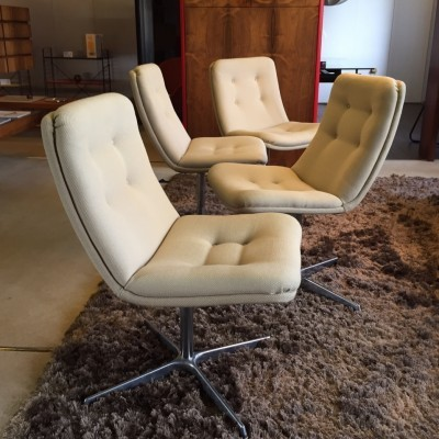 3 office chairs from the sixties by Geoffrey Harcourt for Artifort