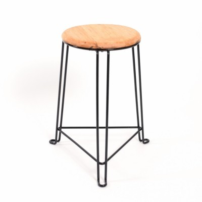 Tabouret 50cm stool from the thirties by Jan van der Togt for Tomado Holland