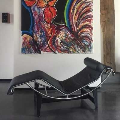 Chaise Longue Lounge Chair by Le Corbusier for Cassina