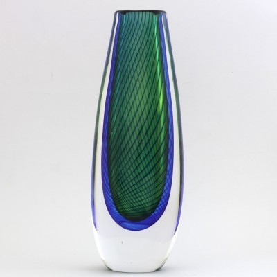 Vase from the fifties by Vicke Lindstrand for Kosta