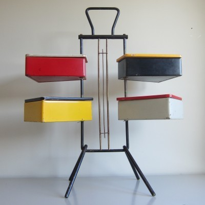 Sewing Box from the fifties by Joos Teders for Metalux