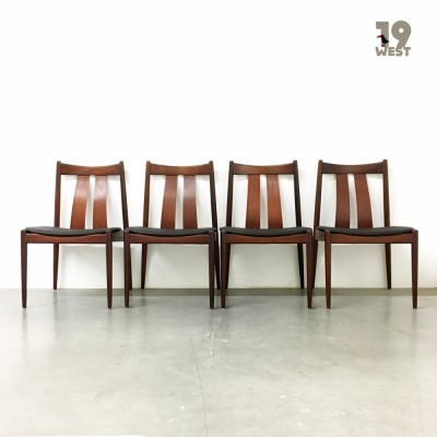 Set of 4 Bramin dinner chairs, 1960s