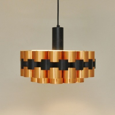 Hanging lamp by Werner Schou for Coronell Elektro Denmark, 1970s