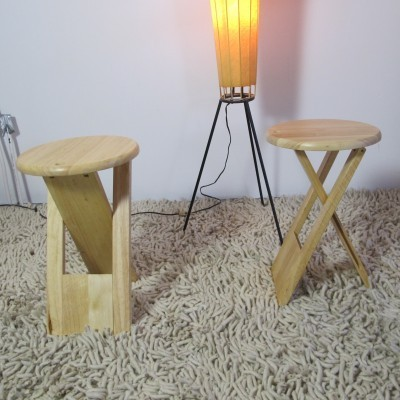 4 TS Folding Chair stools by G. I. Tallon for unknown producer