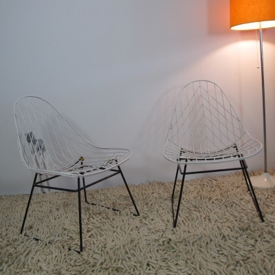 2 x FM05 lounge chair by Cees Braakman for Pastoe, 1950s