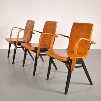 3 x dining chair by Roland Rainer for AP Originals, 1950s