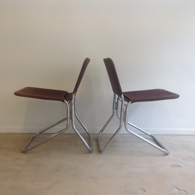 Pair of Riemersma lounge chairs, 1950s