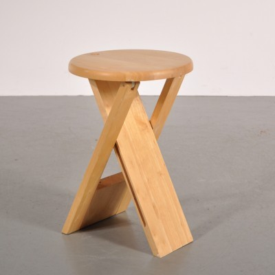 Stool from the seventies by Roger Tallon for unknown producer