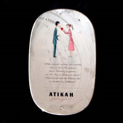 Mirror from the fifties by unknown designer for Atikah
