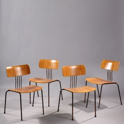 Set of 4 dinner chairs by Sigurd Persson for Ary Stalmobler, 1960s