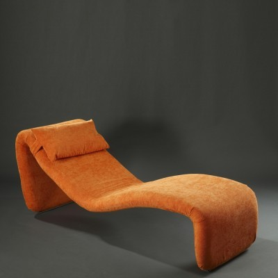 Djinn lounge chair by Olivier Mourgue for Airborne, 1960s
