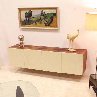 Alpha sideboard from the sixties by unknown designer for Banz Bord
