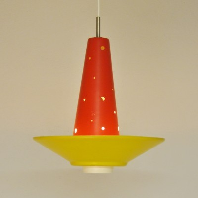 Model 4048 hanging lamp from the fifties by J. Hoogervorst for Anvia Almelo