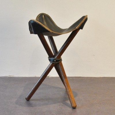 African Tripod stool, 1970s
