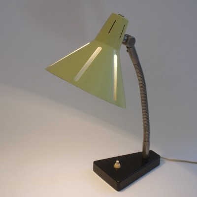 Zonneserie desk lamp from the fifties by H. Busquet for Hala Zeist