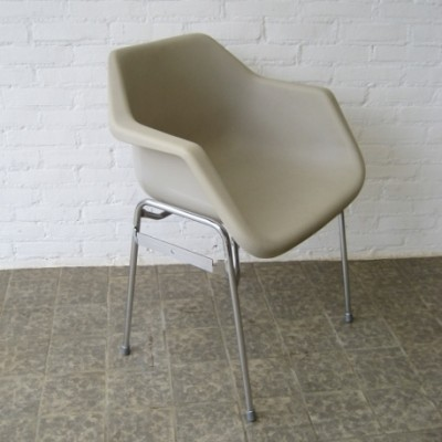 2 x dining chair by Robin Day for Hille, 1960s