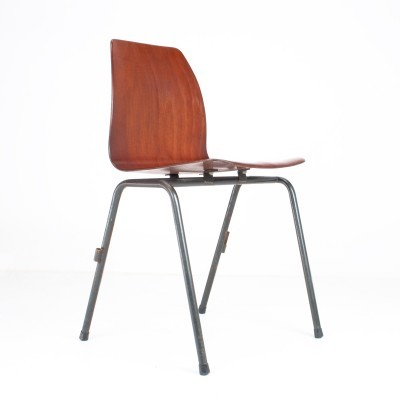 8 x S25 dinner chair by Galvanitas, 1960s