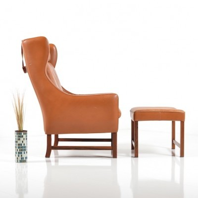 965H lounge chair by Fredrik Kayser for Vatne Møbler, 1960s