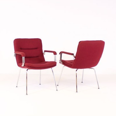 4 arm chairs from the sixties by Geoffrey Harcourt for Artifort