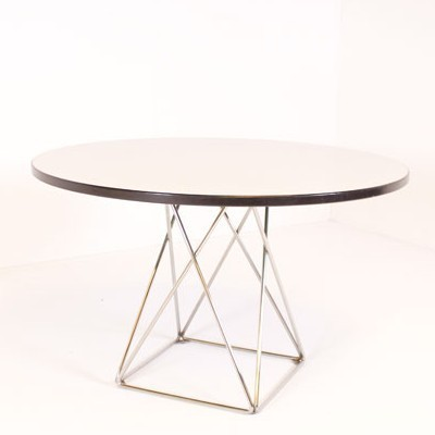 Thonet dining table, 1950s