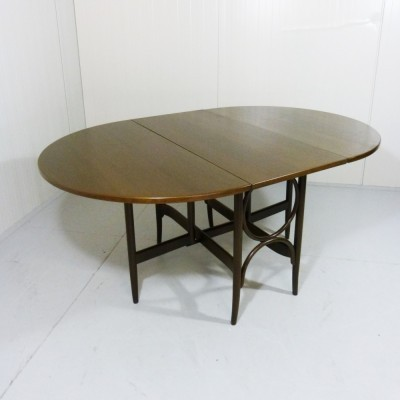 Hangoor / Loptable dining table from the seventies by unknown designer for Thonet