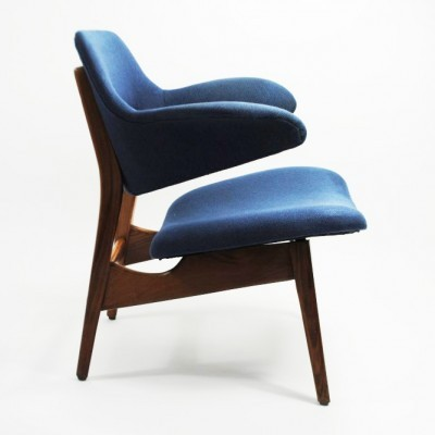 4 x lounge chair by Louis van Teeffelen for Wébé