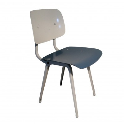 2 Revolt dinner chairs from the sixties by Friso Kramer for Ahrend de Cirkel