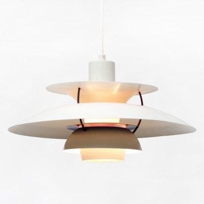3 PH5 hanging lamps from the fifties by Poul Henningsen for Louis Poulsen