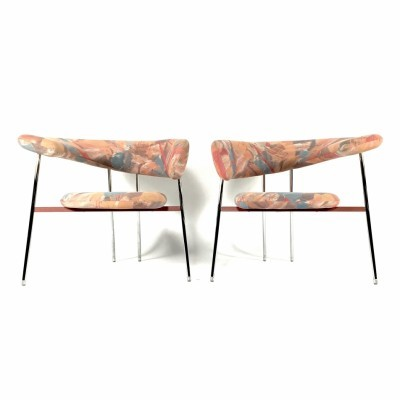 2 Divi Divi lounge chairs from the eighties by Mark Van Tilburg for Leolux