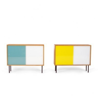 2 cabinets from the fifties by Georg Satink for WK Möbel