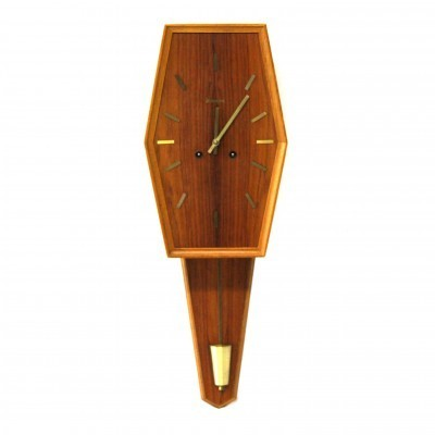 Clock from the fifties by Yngve Westerstrand for Westerstrand Sweden