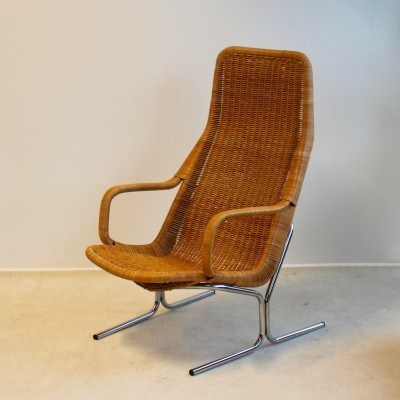 Model 514 lounge chair from the sixties by Dirk van Sliedregt for Gebroeders Jonkers