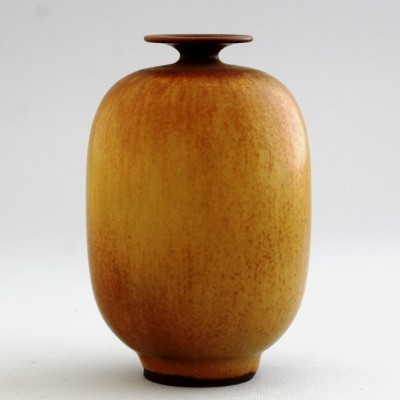 Unique vase by Berndt Friberg for Gustavsberg, 1950s