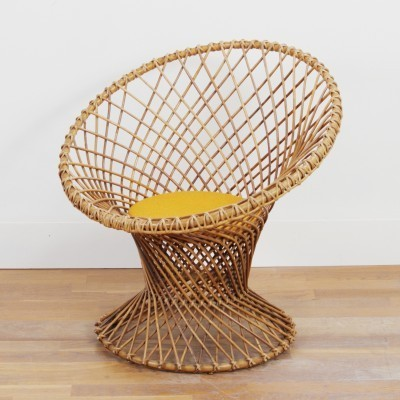 Lounge Chair by Unknown Designer for Rohé Noordwolde