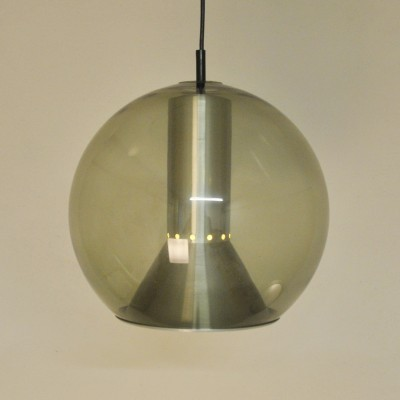 Globe Ø35cm hanging lamp from the seventies by Frank Ligtelijn for Raak Amsterdam