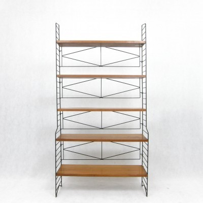 Free Standing Shelves cabinet by Nisse Strinning for String Design AB, 1960s