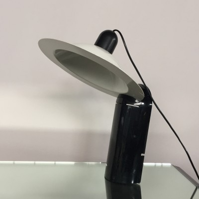 Lampiatta desk lamp by Jonathan De Pas & Donato D Urbino for Stilnovo