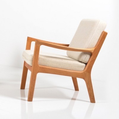 Senator Serie lounge chair by Ole Wanscher for Jeppesen Denmark, 1960s