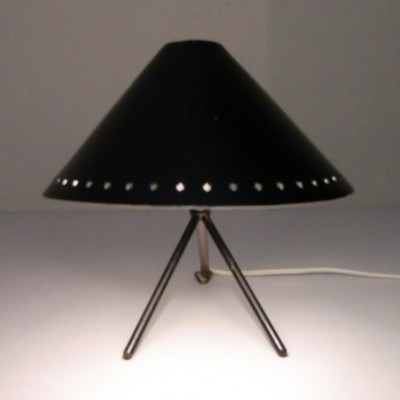 Pinochio desk lamp by H. Busquet for Hala Zeist, 1940s