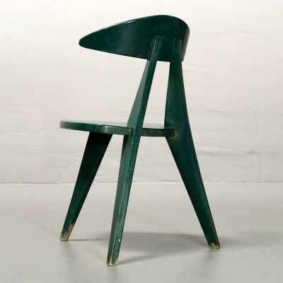 3-leg Children's chair by Walter Papst for Wilkhahn, 1950s