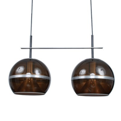 Hanging lamp from the sixties by unknown designer for Dijkstra Lampen