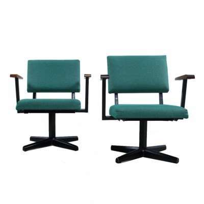 34 office chairs from the sixties by unknown designer for unknown producer