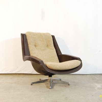 Alpha lounge chair from the seventies by Paul Tuttle for Strässle