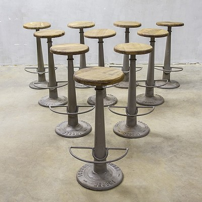Stool by Unknown Designer for Necchi