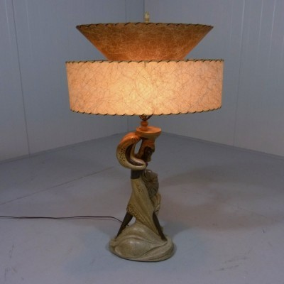 Continental Art Company desk lamp, 1950s