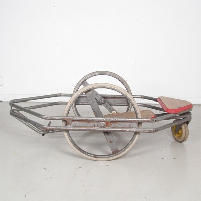Vintage Industrial Go-kart For Kids, 1950s