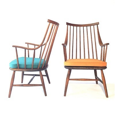 2 x arm chair by Lena Larsson for Nesto, 1950s