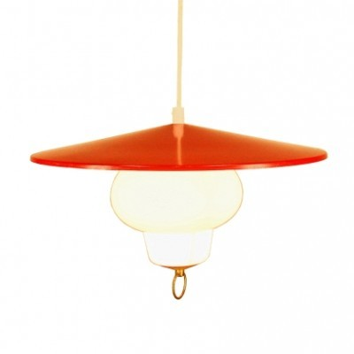 Voss Belysning hanging lamp, 1950s