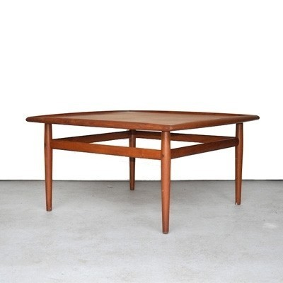 Coffee Table By Grete Jalk For France U0026 Son, 1960s